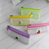 Stock Pencil Case Fruit Design Stationery Bag for Office and Teenage