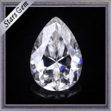 Whole Sale Price 9*7 Pear Shape Synthetic Moissanite Stone