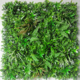 Anti UV Protected Fire Retardant Artificial Boxwood Fern Plant Foliage IVY Leaf Hedge Privacy Vertical Garden Green Wall