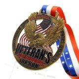 China Manufacture Cheap Wholesale Custom Metal Award Marathon Running Trophies Sport Medal No Minimum Order