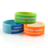 Promotion Personalized Custom Silicone Wristband Rubber Bracelet with Logo
