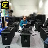 Goldensoil Audio J8 Dual 12 Inch Big Line Array Speaker Active Professional Outdoor Sound System Neodymium Componen