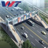 Customized Steel Structure Overpass Bridge/Stepover Bridge