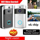 Outdoor Wireless Security Camera Doorbell with Full HD Resolution