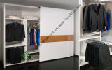 Aluminum Edge MDF Sliding Door for Wardrobe Closet (SD-05)