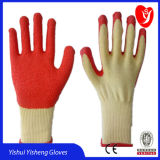 10 Gauge 2 Strings Latex Coated Work Gloves for Safety Work