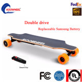 Hub Motor Electric Skateboard with 4 Wheel Stock in EU/Us Warehouse