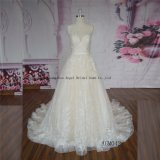 Chic Iridescent Low Cut Back Elegant Wedding Gown Preservation Company