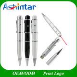 Laser Point Pen USB Flash Disk Memory Stick USB Pen Drive Metal USB Flash Drive