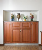 Custom Made Wooden Home Furniture PVC Door Kitchen Cabinet Furniture