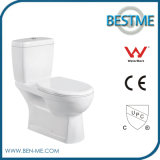 Bathroom Washing One Piece Ceramic Toilet