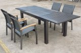 Outdoor Garden Aluminum Dining Table Set Patio Furniture