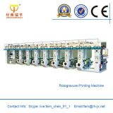 PVC, PE, OPP, BOPP, Pet Film Rotogravure Printing Machine (ASY-C1000)