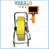 Self Leveling Drain Pipeline Survey Sewer Inspection Camera, 40mm Camera, Color, Recording, Counting, Writing