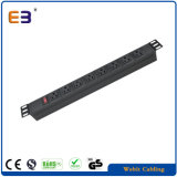 19inch Us Series PDU Used for Network Cabinet Rack Power Socket