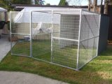 Hot Dipped Galvanized Dog Cage/Dog House/Dog Enclosure