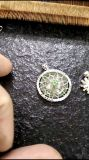 925 Sterlin Silver with CZ Necklace Pendant