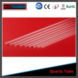 Clear Fused Quartz Glass Tube for Heating Elements