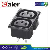 Universal Snap-in AC Power Socket