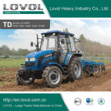 80HP 90HP Farm wheel agricultural agri Diesel Walking Garden foton Lovol Tractor with CE & OECD
