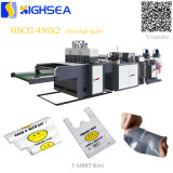 Heat Sealing LDPE Bag T-Shirt Bag Refuse Bag Shopping Bag Cheap Vest Bag Biodegradable Plastic BGA Making Machine