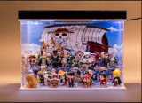 Clear Acrylic Box for Dolls, LED Box