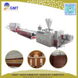 WPC PVC Wood+Composite Plastic Wall Panel Exterior Extrusion Machine Line