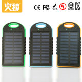 W204 Solar Power Bank for Portable Mobile Phone with Customized Color