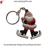 Hot Sale Christmas Gifts Soft PVC Keychain for Promotional (YH-KC065)