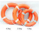 Solas Plastic Life Buoy Ec Ce ISO9001 Approved Marine Orange Plastic Life Buoy Life Ring Water Recuse Life Ring