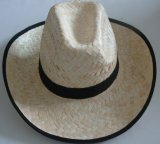 Straw Hat Made of Natural Straw (MK15-3)