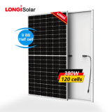 Longi Perc Mono Solar Panel 340W 360watt 380W Manufacture PV Panel Half Cut
