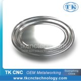 Stainless Steel Oval Serving Tray Plate as Tableware