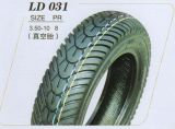 DOT ISO9001 Certified Motorcycle Vacuum Tire with 10pr (3.50-10)