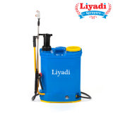 Agricultural Knapsack Hand 2in1 Manual and Battery Power Pressure Backpack Pump Sprayer