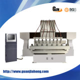8 Heads 4 Axis Wood CNC Router Engraving Machine (DT2012W-8)