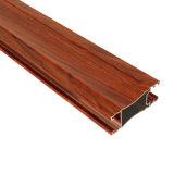 Best Price Wood Color Aluminum Window Extrusion