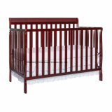 High Quality New Zealand Pinewood ASTM Certificated Baby Crib