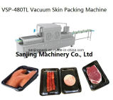 Wholesale Automatic Continuous Food Vacuum Sealing Skin Packing Packaging Machine
