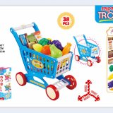 Kids Play Plastic Educational Home Supermarket with Fruit Toy