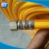 Paint Spray and Compressed Air Hose Used in Herbicides Transfer