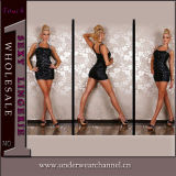High Quality Women Fashion Party Prom Cocktail Mini Dress (2326)