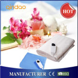 220-240V 100% Polyester Electric Heating Blanket for Bed Warmer