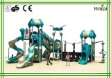 Outdoor Playground-High Quality Kaiqi Group New Design Outdoor Playground Parks of Aliens Series for Amusement Park, Community, Sand Beach