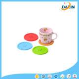 Silicone Cup Mat Cute Colorful Button Cup Coaster Cup Cushion Holder