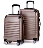 Factory Directly Wholesale Price ABS Aluminum Trolley Luggage