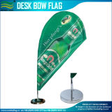 Tear Drop Flags Mini Flying Banner Counter Top Bow (J-NF09M03012)