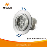7W Aluminum+PC Standard LED Downlight with Ce