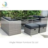 Garden Wicker Sofa Cube Dining Set Outdoor Rattan Patio Furniture (MTC-238)