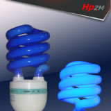 Half Spiral E27 blue-Tube Light Energy Saving Lamp